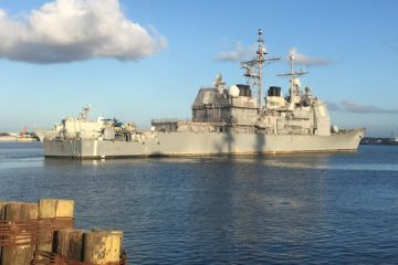 U.S. Navy Started Modernization Work for USS Hué City – CG 66
