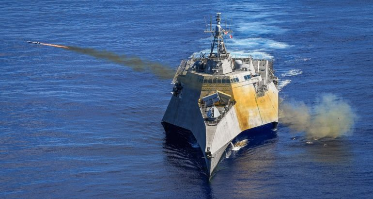 U.S. Navy Launched NSM From LCS Using General Dynamics Combat System