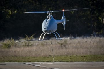 Airbus VSR700 VTOL UAV enhanced prototype performed maiden flights