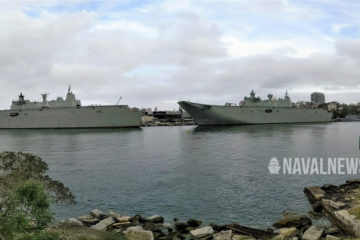 Australia's Camberra-class LHDs Achieve Final Operational Capability