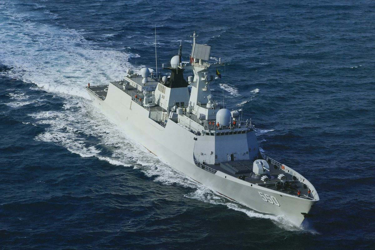 054_Chinas CSTC Starts Construction of 3nd 4th Type 054 A/P Frigate for Pakistan ...