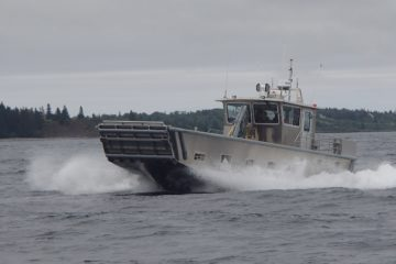 First Landing Craft for Canadian Navy's AOPS Delivered