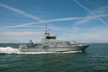 Ukraine Ministry of Interior Selects Nibulon Shipbuilding to Build Five Patrol Vessels