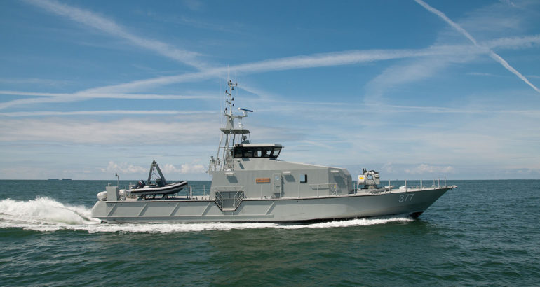 Government of Ukraine oks procurement of 20 OCEA FPB 98 patrol vessels