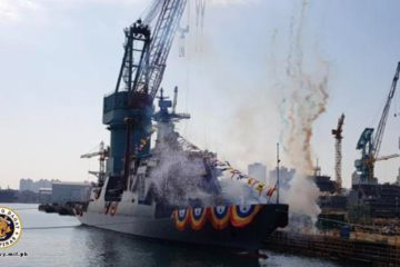 HHI Launched the 2nd and Final Jose Rizal-class Frigate for the Philippine Navy