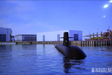 Naval Group Pitching Barracuda-Family Submarine at NEDS 2019