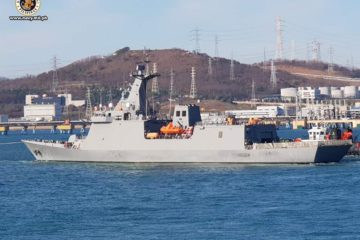 Philippine Navy Frigate BRP Jose Rizal Started Sea Trials in South Korea