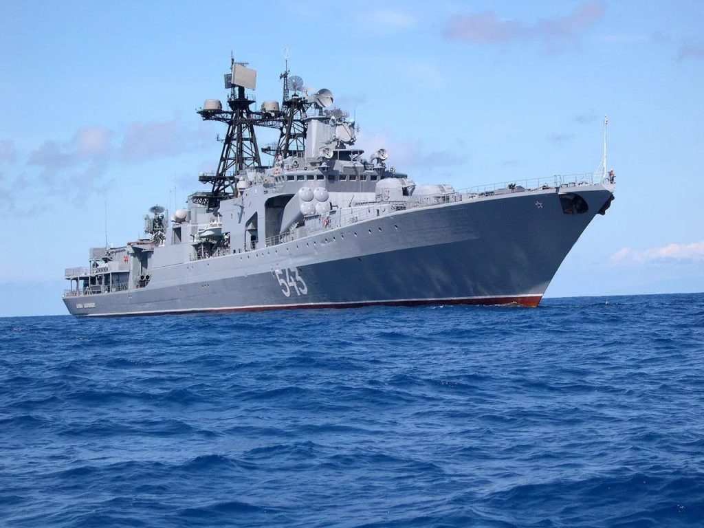 Project 1155 large antisubmarine warfare ASW ship Marshal Shaposhnikov Udaloy-class