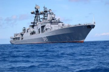 Russian Navy Project 1155 Udaloy-class Destroyers to fire Tsirkon Hypersonic Missiles