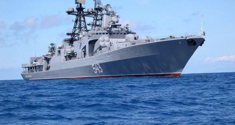 Project 1155 large antisubmarine warfare ASW ship Marshal Shaposhnikov Udaloy-class