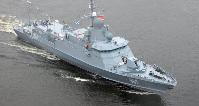 Armée Russe / Armed Forces of the Russian Federation - Page 38 Russia-Project-22800-Karakurt-class-small_missile_boat_corvette_Uragan-770x410