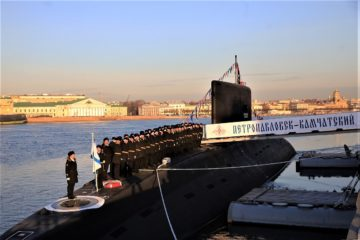 Russia's Pacific Fleet Commissions First Improved Kilo-class / Project 636.3 Submarine