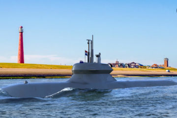 Video: SAAB DAMEN Team for the Dutch Walrus Submarine Replacement Program