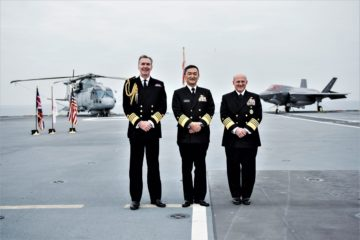 U.S. Navy Royal Navy & JMSDF Reaffirm Trilateral Cooperation Agreement