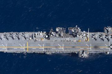 USMC F-35Bs & USS America shaping the future of amphibious operations