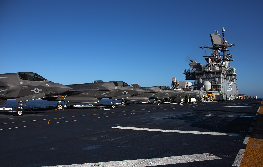 The Future is Now – F 35Bs Aboard USS America