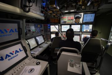 1st Crew of French Navy's New SSN Completes Simulator Training Ahead of Sea Trials