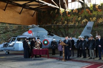 AS365N3+ Dauphin II Naval Helicopter Delivered to Bulgarian Navy
