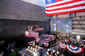 Austal Christened U.S. Navy's 26th Littoral Combat Ship – USS Mobile