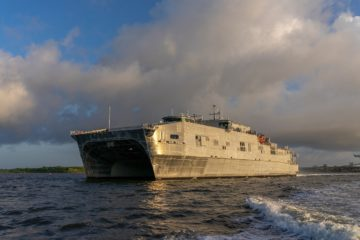 Austal USA Delivers USNS Puerto Rico to U.S. Navy