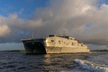 Austal USA Delivers USNS Puerto Rico to U.S. Navy