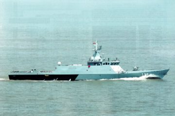 First Littoral Mission Ship 'Keris' Handed Over to Royal Malaysian Navy