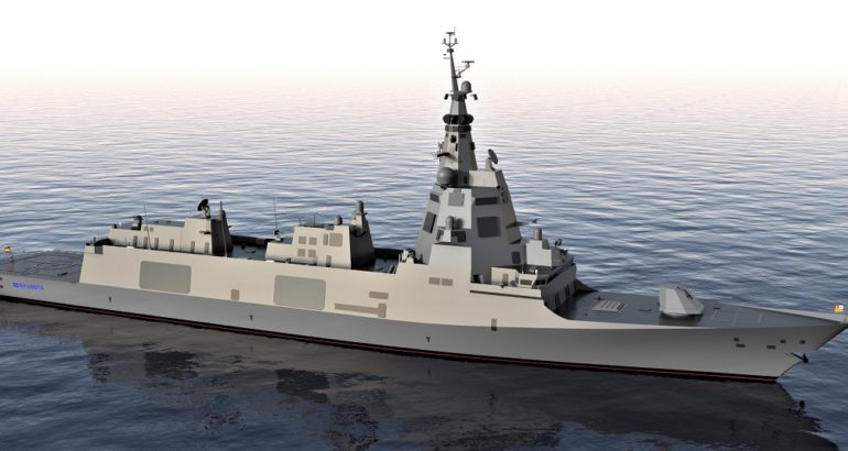 DMC Awarded Contract To Provide Rudders And Steering Gear For F-110 Frigates