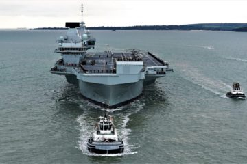 Royal Navy Commissions its 2nd Aircraft Carrier – HMS Prince of Wales
