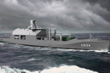 Damen Inks Contract for Royal Netherlands Navy new Combat Support Ship