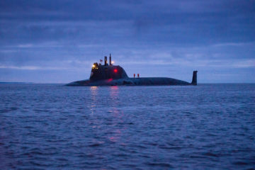 Russia's Kazan nuclear-powered attack submarine holds torpedo live-firing in White Sea
