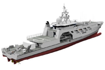 SOCARENAM Shipyard Selected to Deliver 6 French Navy OPVs  for Overseas Territories