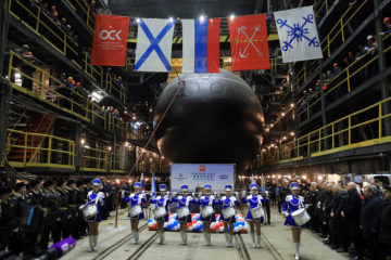 Second Improved Kilo-class / Project 636.3 Submarine Launched for Russia's Pacific Fleet