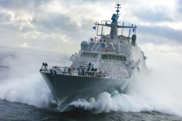 Tenth Freedom-class LCS for U.S. Navy Completes Acceptance Trials