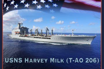 NASSCO Starts Construction on Future USNS Harvey Milk