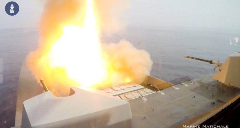 Video: French Navy Demonstrates Cooperative Engagement