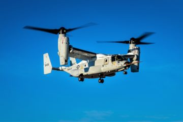 Bell Boeing CMV-22B Osprey Successfully Completes First Flight