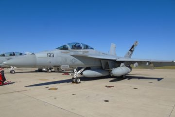 Boeing and U.S. Navy Complete First Super Hornet IRST Block II Flight