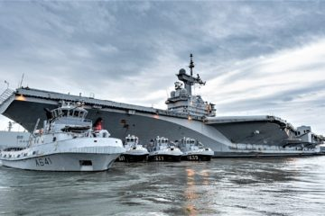 French Carrier Strike Group Begins 'Foch' Deployment
