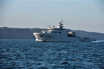 French Navy Starts Trials of Variable Depth Sonar aboard Loire-class Offshore Support Vessel