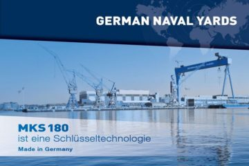 German Naval Yards Kiel takes legal actions against MKS 180 procurement