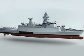 Lürssen laid keel of second K130 Batch 2 corvette 'Emden'