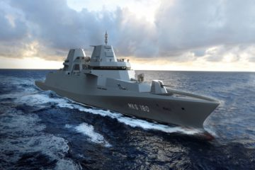 Damen, Blohm + Voss and Thales are awarded the contract to build the MKS 180