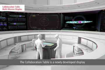 SNA 2020: Fujitsu Unveils Collaborative Table for Japan's AEGIS Ships & AEGIS Ashore