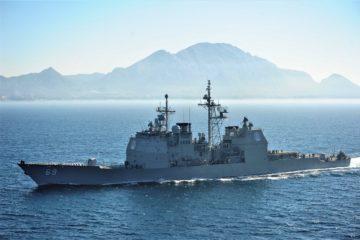 U.S. Navy Awards BAE Systems $175 Million for Guided-Missile Cruiser Modernization