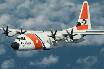 US Coast Guard expands fleet of HC-130J aircraft