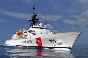 Fabrication Begins on Second Offshore Patrol Cutter for USCG