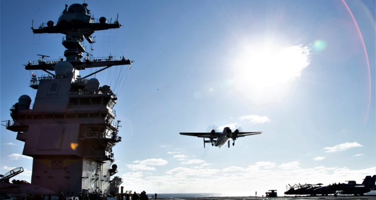 Video: Aircraft Compatibility Testing Aboard USS Gerald R. Ford
