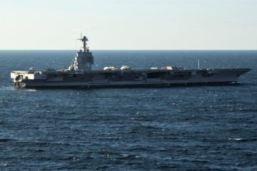 USS Gerald R. Ford Achieves 1000th Aircraft Arrestment, Launch