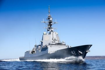 Australia Accepts 3rd & Final Hobart-class Air Warfare Destroyer