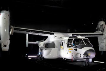Bell Boeing Delivers 1st CMV-22B Osprey to U.S. Navy